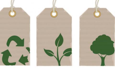 Etiqueta ropa sostenible