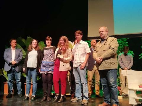 Ecoherencia Premio Málaga Viva 2019 modalidad árbol